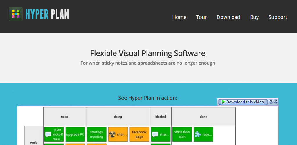 HyperPlan Review – Visual Planning Software
