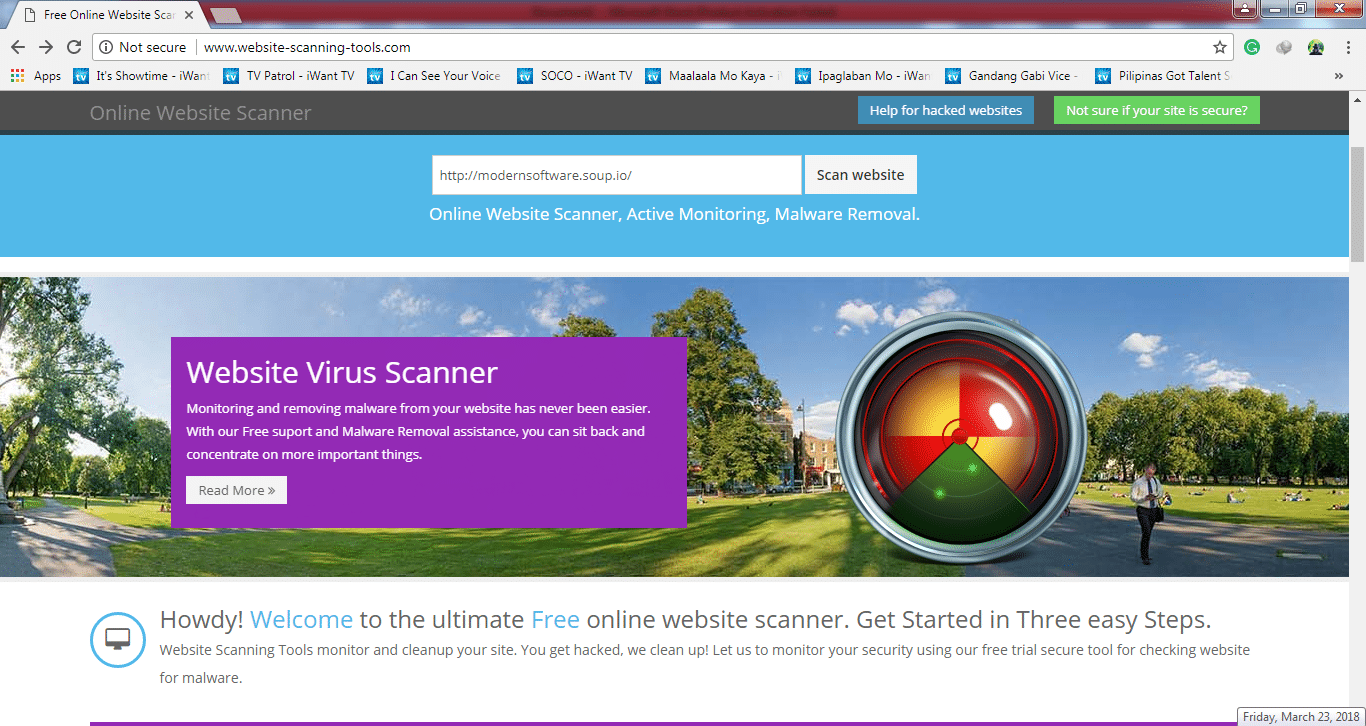 Website Scanner - Free Site Scanner